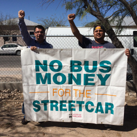 No bus money for the streetcar